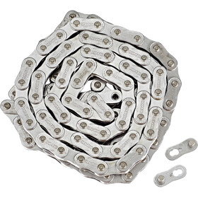 KMC Z1eHX Narrow EPT Bicycle Chain El-sykkel 1-girs grey